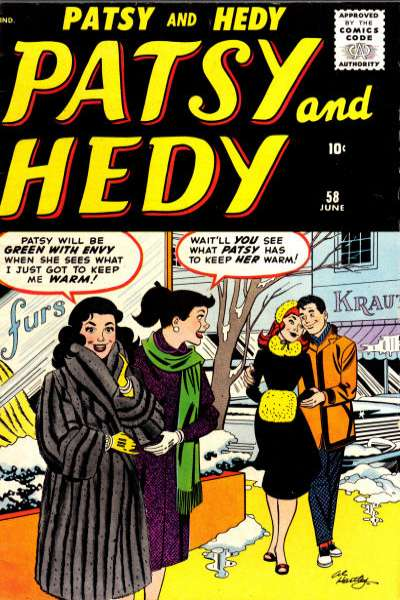 Patsy & Hedy #58 Comic Books - Covers, Scans, Photos  in Patsy & Hedy Comic Books - Covers, Scans, Gallery