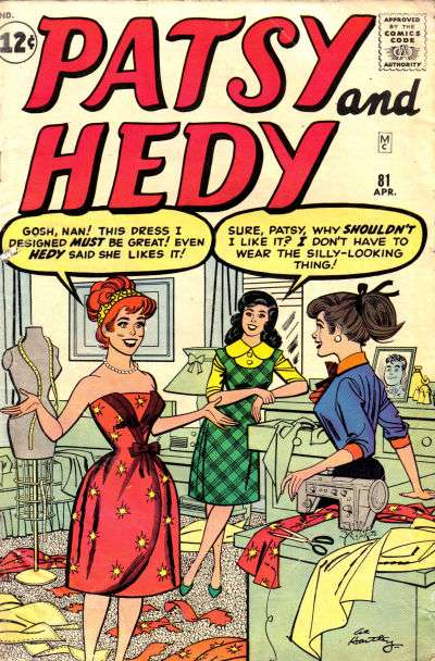 Patsy & Hedy #81 comic books for sale