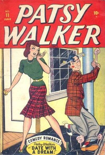 Patsy Walker #11 Comic Books - Covers, Scans, Photos  in Patsy Walker Comic Books - Covers, Scans, Gallery