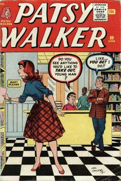 Patsy Walker #89 comic books - cover scans photos Patsy Walker #89 comic books - covers, picture gallery
