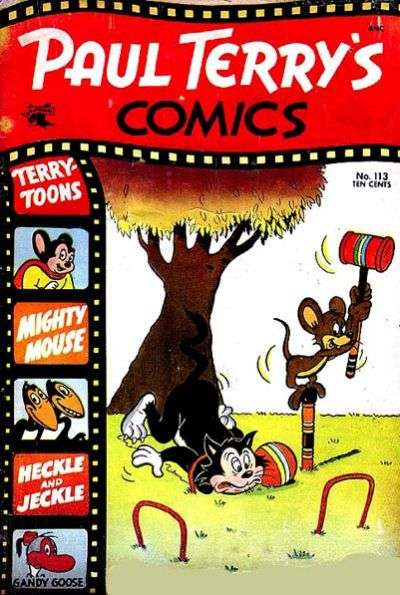 Paul Terry's Comics #113 comic books - cover scans photos Paul Terry's Comics #113 comic books - covers, picture gallery