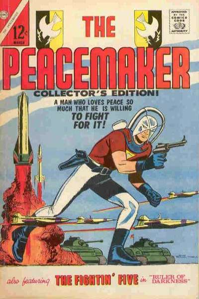 Peacemaker comic books