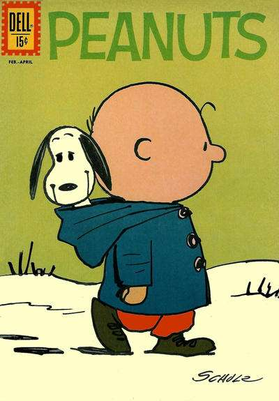 Peanuts #12 comic books - cover scans photos Peanuts #12 comic books - covers, picture gallery