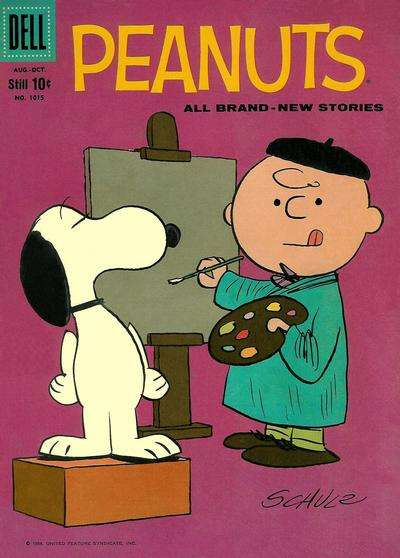 Peanuts #3 comic books for sale