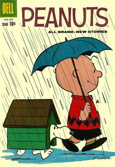 Peanuts #6 Comic Books - Covers, Scans, Photos  in Peanuts Comic Books - Covers, Scans, Gallery