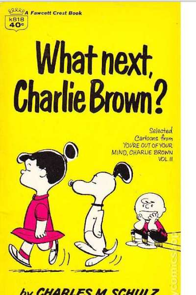 Peanuts paperback books comic books