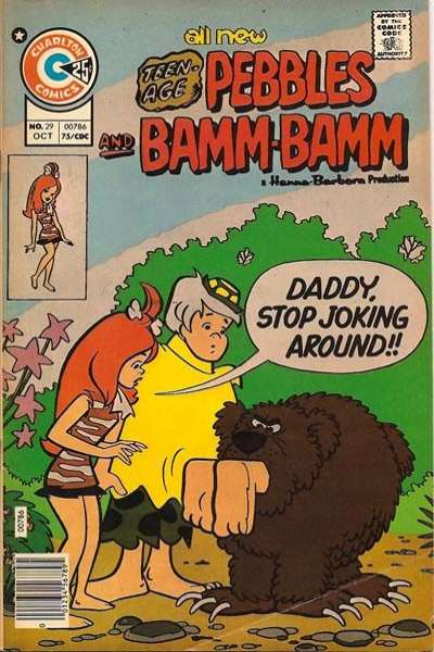 Pebbles and Bamm Bamm #29 cheap bargain discounted comic books Pebbles and Bamm Bamm #29 comic books