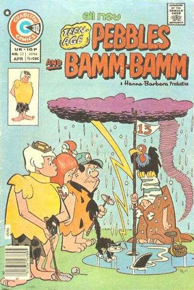 Pebbles and Bamm Bamm #32 Comic Books - Covers, Scans, Photos  in Pebbles and Bamm Bamm Comic Books - Covers, Scans, Gallery