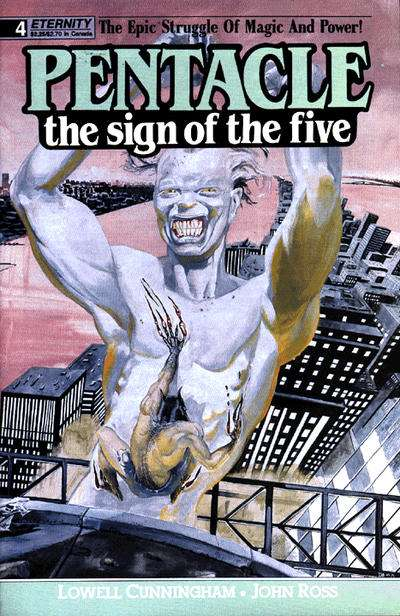 Pentacle: The Sign of the Five #4 comic books for sale