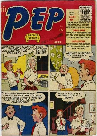 Pep Comics #111 Comic Books - Covers, Scans, Photos  in Pep Comics Comic Books - Covers, Scans, Gallery