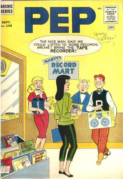 Pep Comics #149 Comic Books - Covers, Scans, Photos  in Pep Comics Comic Books - Covers, Scans, Gallery