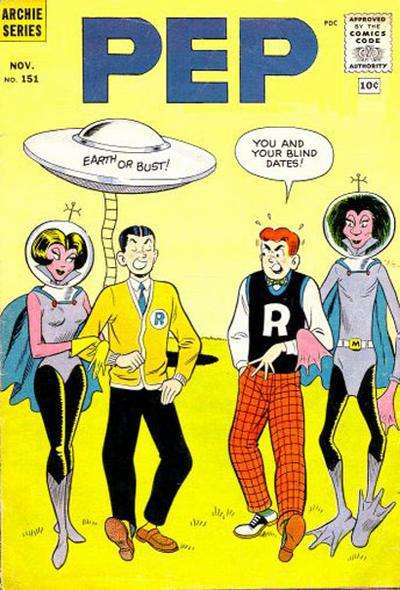 Pep Comics #151 Comic Books - Covers, Scans, Photos  in Pep Comics Comic Books - Covers, Scans, Gallery