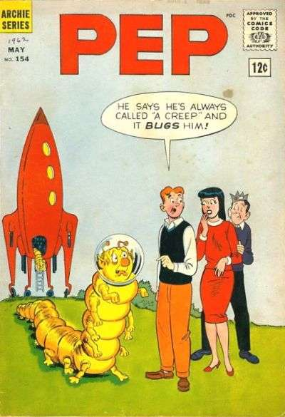 Pep Comics #154 Comic Books - Covers, Scans, Photos  in Pep Comics Comic Books - Covers, Scans, Gallery