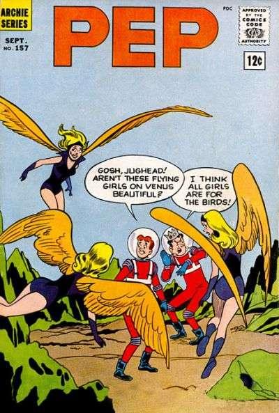 Pep Comics #157 Comic Books - Covers, Scans, Photos  in Pep Comics Comic Books - Covers, Scans, Gallery