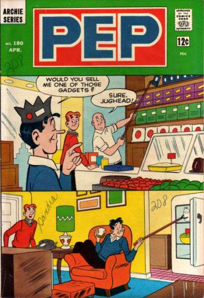 Pep Comics #180 comic books - cover scans photos Pep Comics #180 comic books - covers, picture gallery
