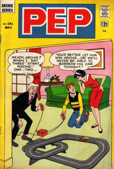 Pep Comics #181 Comic Books - Covers, Scans, Photos  in Pep Comics Comic Books - Covers, Scans, Gallery
