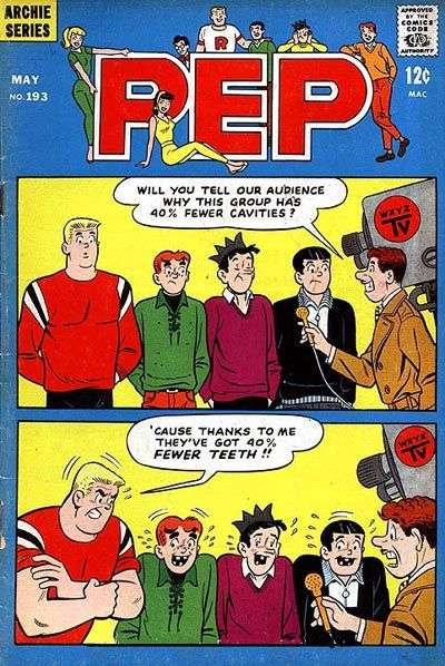 Pep Comics #193 Comic Books - Covers, Scans, Photos  in Pep Comics Comic Books - Covers, Scans, Gallery