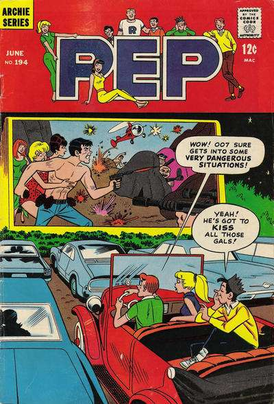 Pep Comics #194 Comic Books - Covers, Scans, Photos  in Pep Comics Comic Books - Covers, Scans, Gallery
