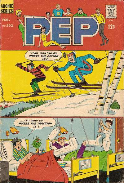 Pep Comics #202 Comic Books - Covers, Scans, Photos  in Pep Comics Comic Books - Covers, Scans, Gallery
