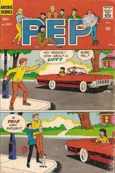Pep Comics #212 comic books - cover scans photos Pep Comics #212 comic books - covers, picture gallery