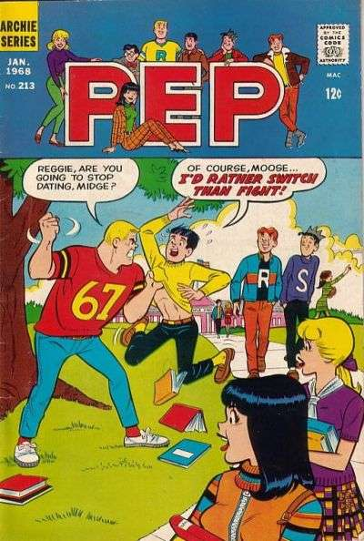 Pep Comics #213 comic books - cover scans photos Pep Comics #213 comic books - covers, picture gallery