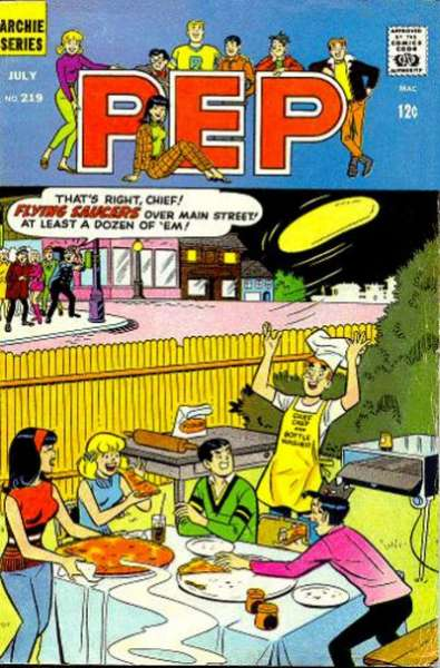 Pep Comics #219 comic books for sale