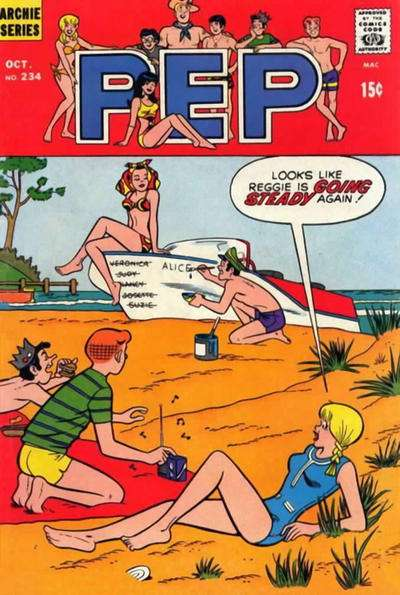 Pep Comics #234 comic books for sale