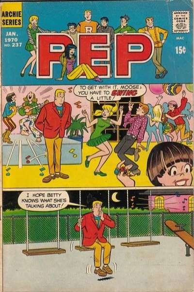 Pep Comics #237 comic books - cover scans photos Pep Comics #237 comic books - covers, picture gallery