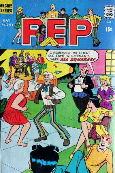 Pep Comics #241 comic books - cover scans photos Pep Comics #241 comic books - covers, picture gallery