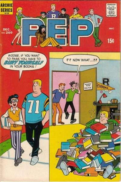 Pep Comics #260 Comic Books - Covers, Scans, Photos  in Pep Comics Comic Books - Covers, Scans, Gallery