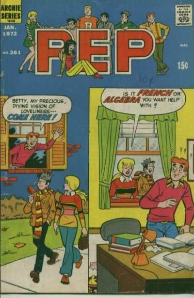 Pep Comics #261 Comic Books - Covers, Scans, Photos  in Pep Comics Comic Books - Covers, Scans, Gallery
