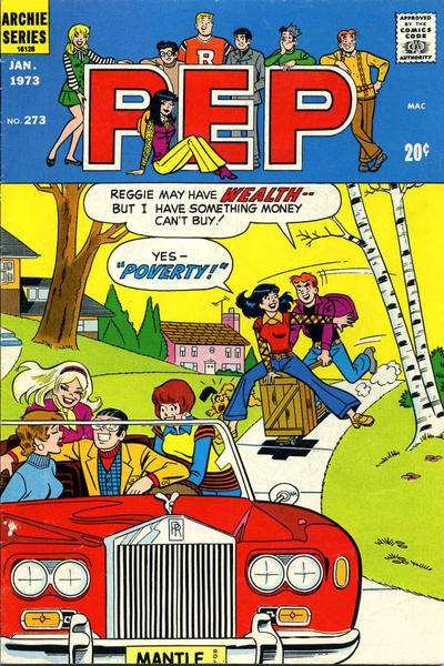 Pep Comics #273 comic books for sale