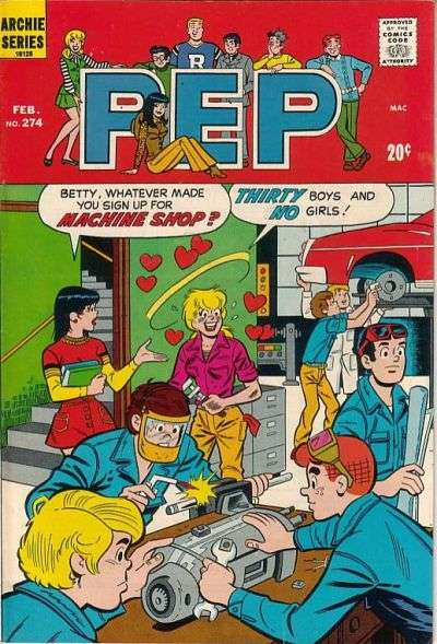 Pep Comics #274 comic books for sale