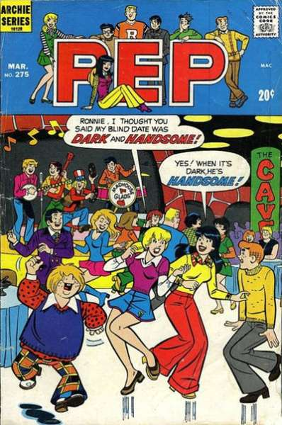 Pep Comics #275 comic books - cover scans photos Pep Comics #275 comic books - covers, picture gallery