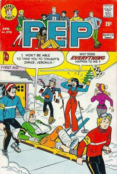 Pep Comics #276 Comic Books - Covers, Scans, Photos  in Pep Comics Comic Books - Covers, Scans, Gallery