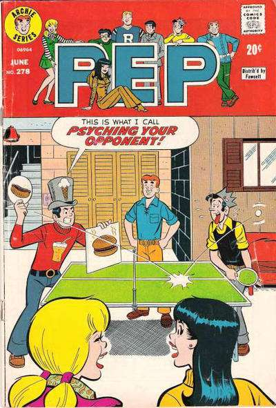Pep Comics #278 comic books - cover scans photos Pep Comics #278 comic books - covers, picture gallery
