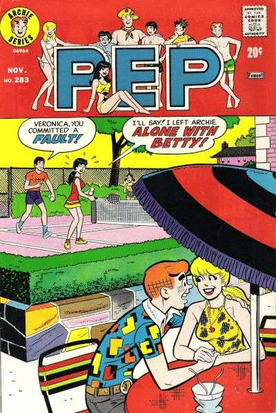Pep Comics #283 comic books for sale