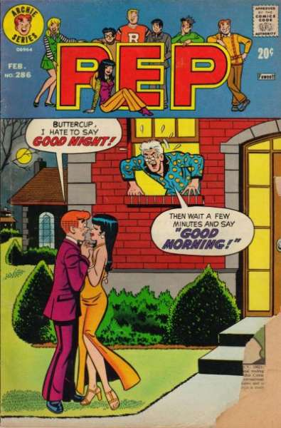 Pep Comics #286 Comic Books - Covers, Scans, Photos  in Pep Comics Comic Books - Covers, Scans, Gallery