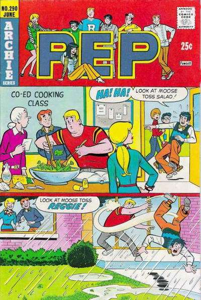 Pep Comics #290 comic books for sale