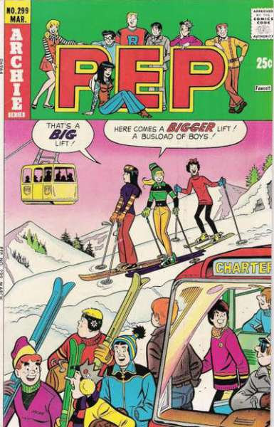 Pep Comics #299 comic books for sale
