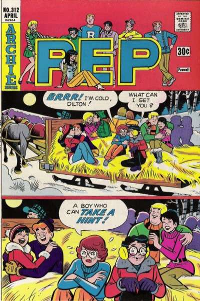 Pep Comics #312 comic books for sale