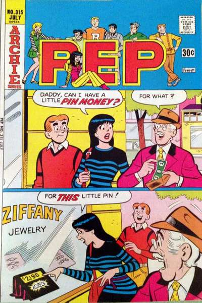 Pep Comics #315 comic books for sale