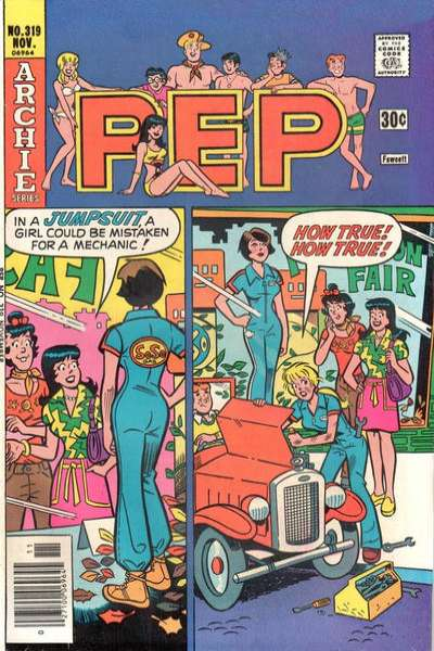 Pep Comics #319 Comic Books - Covers, Scans, Photos  in Pep Comics Comic Books - Covers, Scans, Gallery