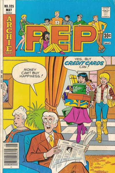 Pep Comics #325 comic books for sale