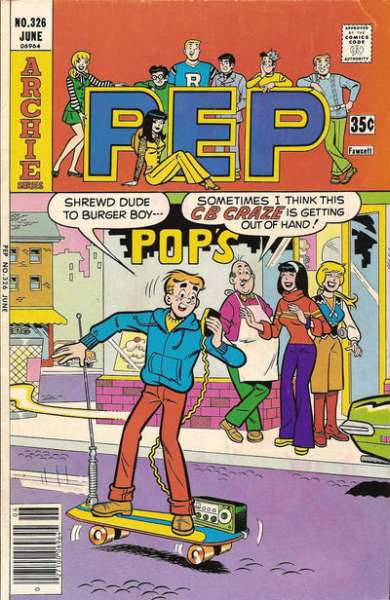 Pep Comics #326 comic books - cover scans photos Pep Comics #326 comic books - covers, picture gallery