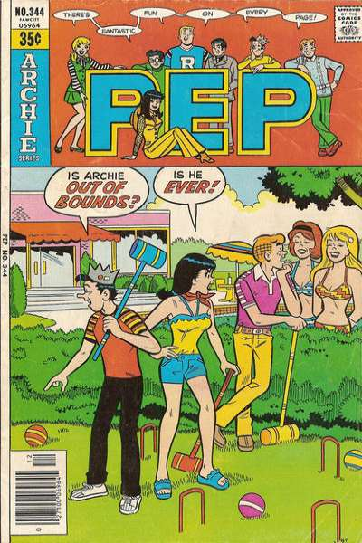 Pep Comics #344 comic books for sale