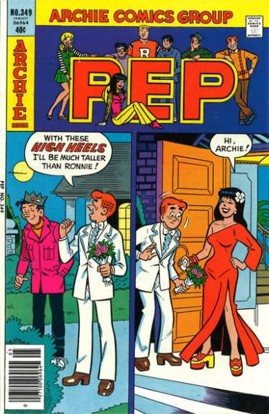 Pep Comics #349 Comic Books - Covers, Scans, Photos  in Pep Comics Comic Books - Covers, Scans, Gallery