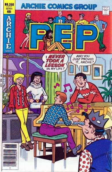 Pep Comics #350 comic books - cover scans photos Pep Comics #350 comic books - covers, picture gallery