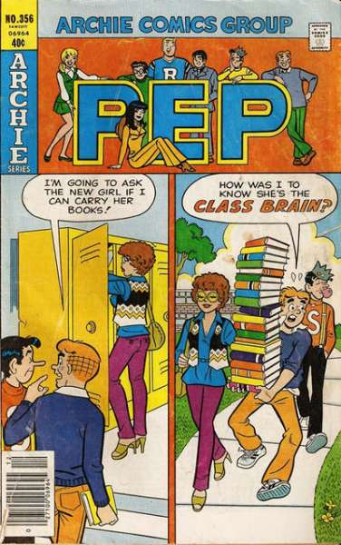 Pep Comics #356 Comic Books - Covers, Scans, Photos  in Pep Comics Comic Books - Covers, Scans, Gallery