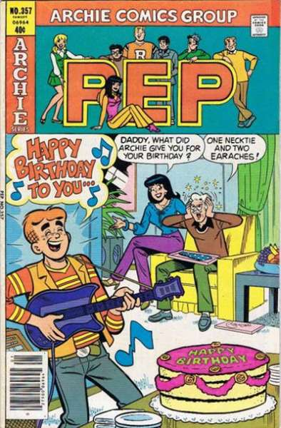 Pep Comics #357 Comic Books - Covers, Scans, Photos  in Pep Comics Comic Books - Covers, Scans, Gallery